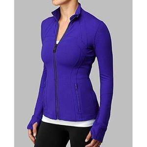 Lululemon💕Define Jacket Purple Blue Yoga Jacket